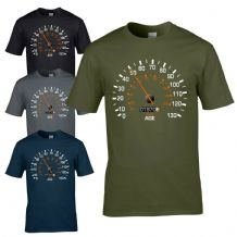 Speedometer 1970 50th Birthday T-Shirt - Funny Feels Age Year Present Mens Gift
